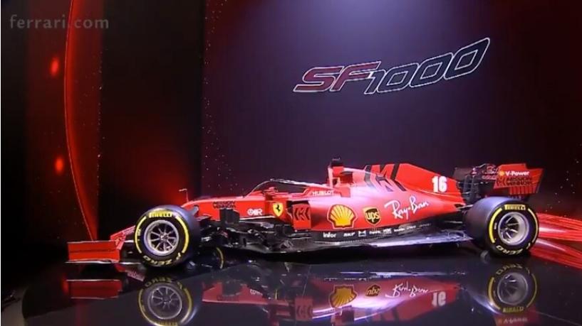 F1: Presentata la SF1000
