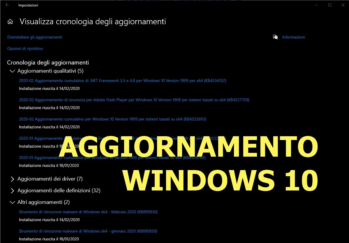 Windows 10… Scherzo di S. Valentino…