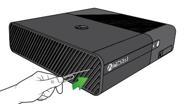 Xbox One, espellere dischi con il controller.