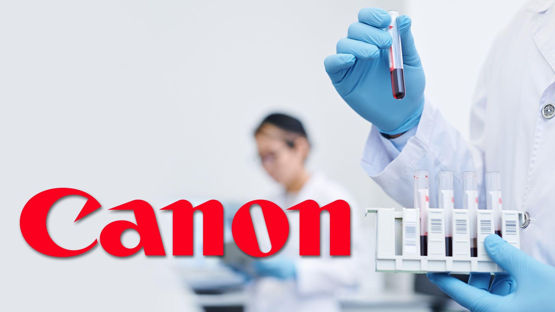 Canon: test rapido per il Covid-19