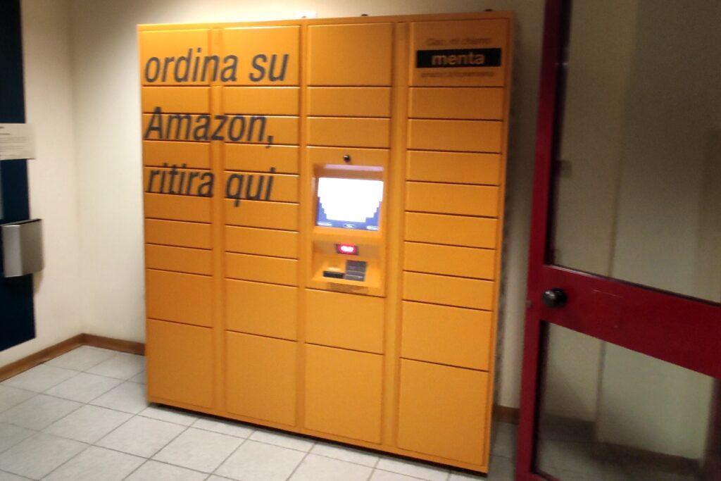AMAZON: la comodità e la sicurezza del locker.