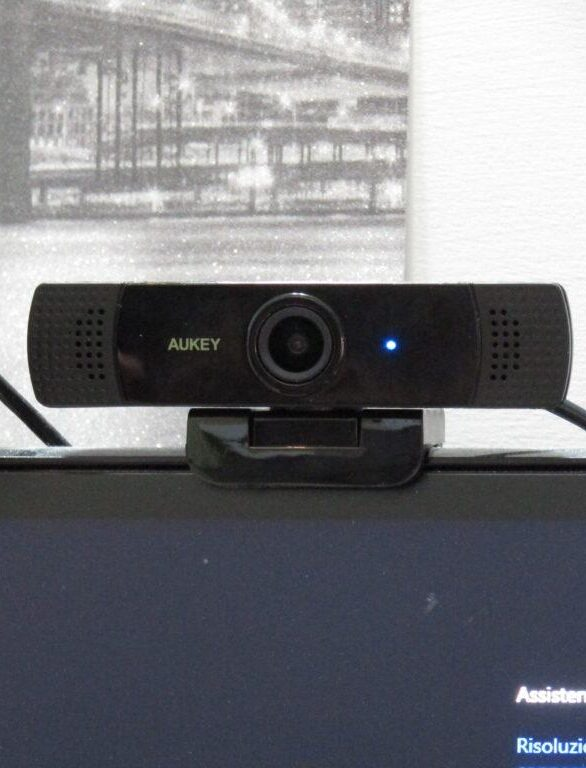 WEBCAM Aukey PC-LM1E