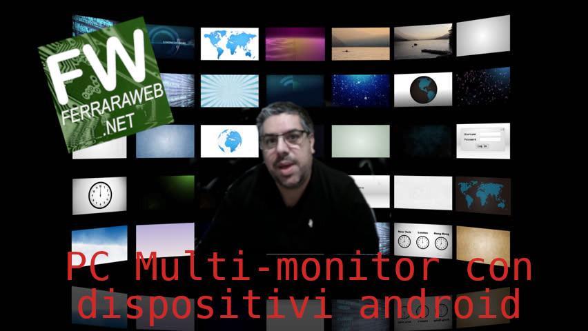 Multi-monitor con dispositivi Android
